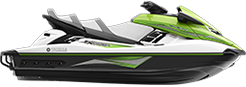 Yamaha FX Cruiser HO Waverunner in Green and While